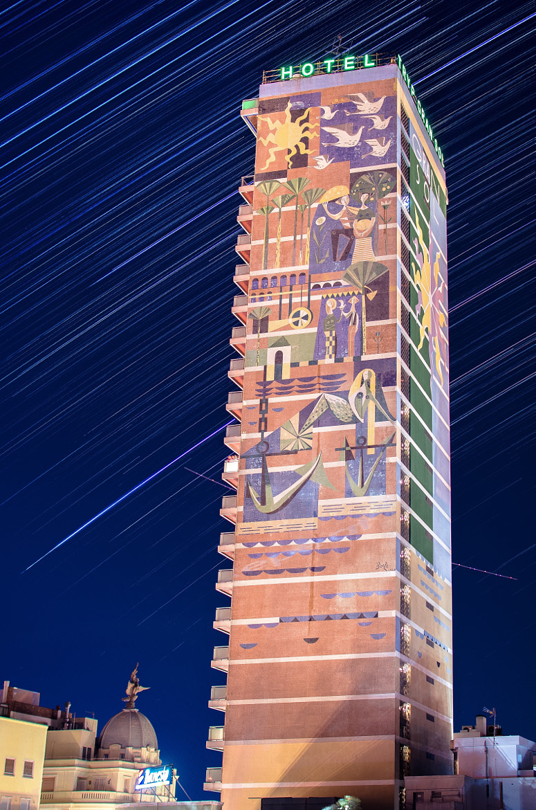 Photograph Shower of Stars on Gran Sol Hotel by Olivier Shaw on 500px