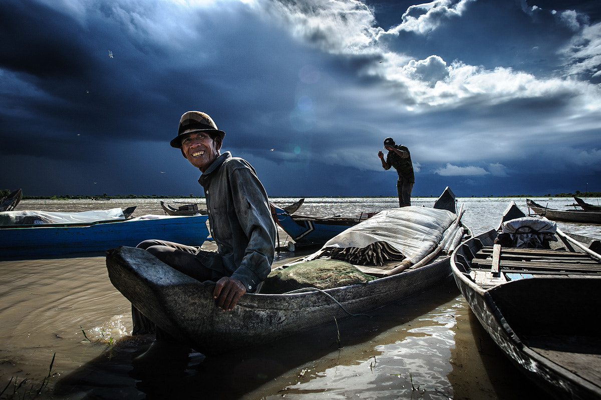 Photograph Fisherman, Cambodia by Alessandro Vannucci on 500px