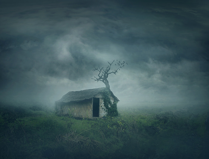 Photograph spooky shack by Teuku Jody  Zulkarnaen on 500px