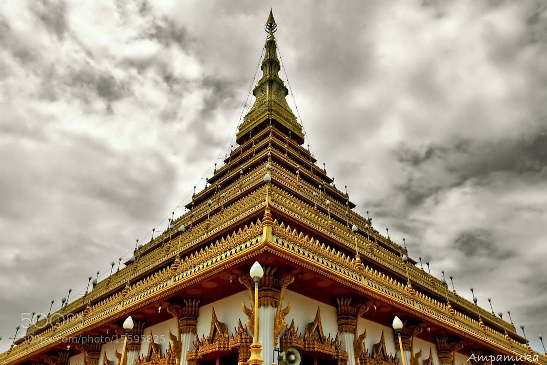Photograph Triangle Pagoda by Suradej Chuephanich on 500px