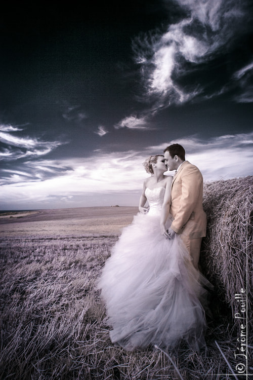 Photograph Mariage infrarouge by Jérôme Pouille on 500px