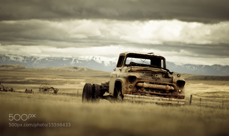 Photograph Decayed Car by Thomas Straubinger on 500px