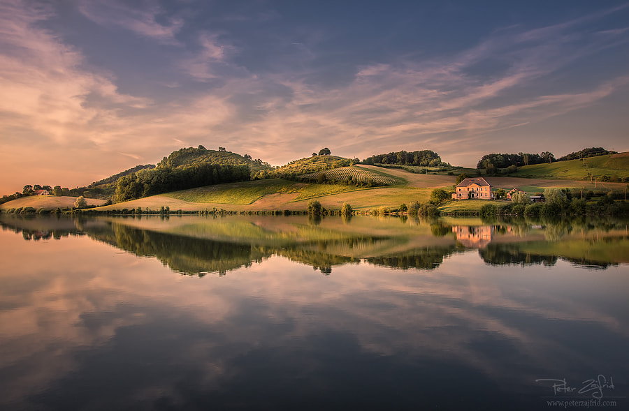 Spring at the lake by Peter Zajfrid on 500px.com