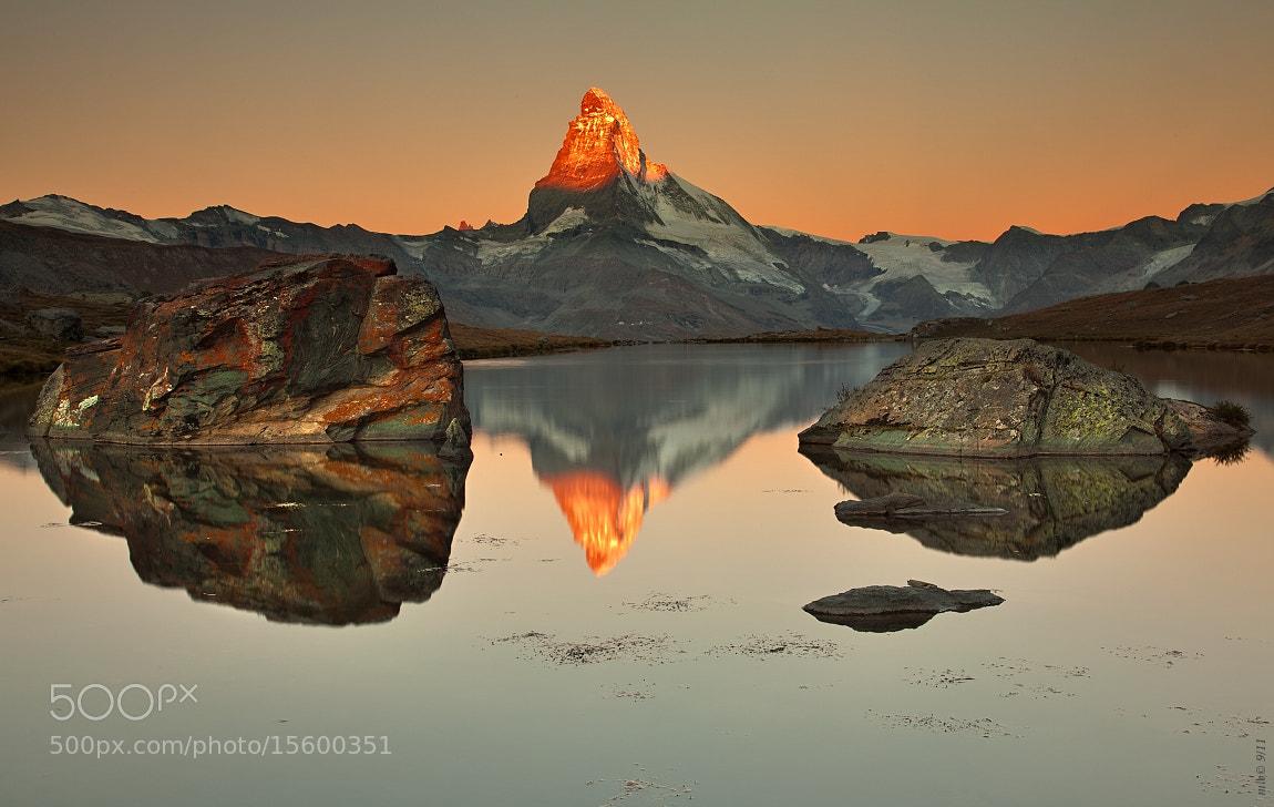 Photograph Matterhorn reflection by Matej Lovíšek on 500px