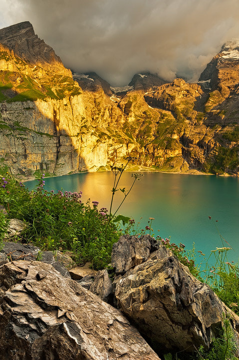 "Photograph Stimmung am Oeschinensee/Switzerland by Roland ""Bill"" Moser on 500px"