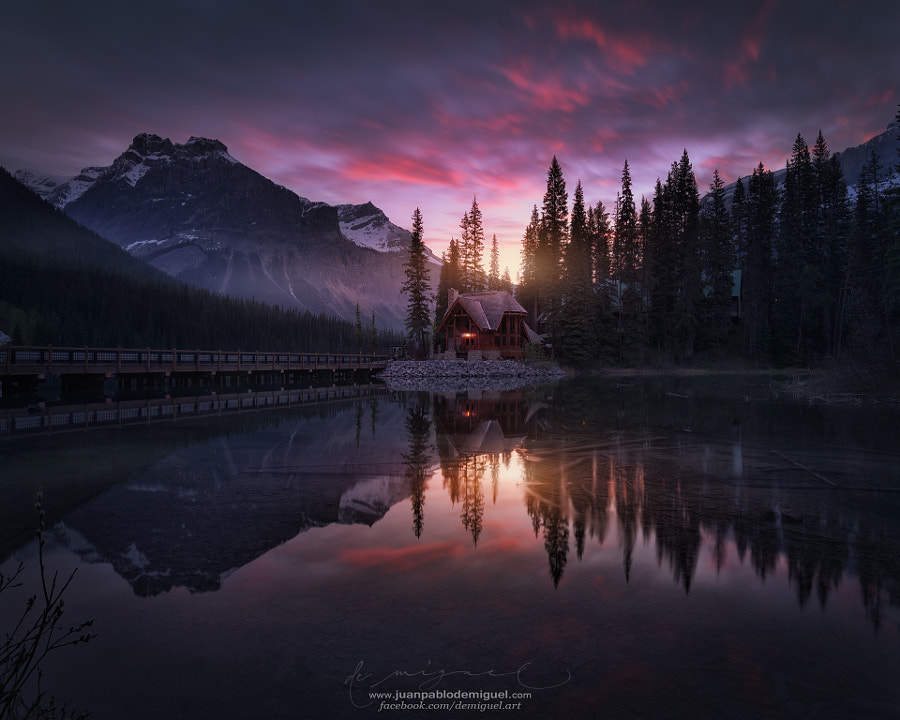 Landscape Fine Art Photography, Red Emerald by nature and landscape photographer Juan Pablo de Miguel