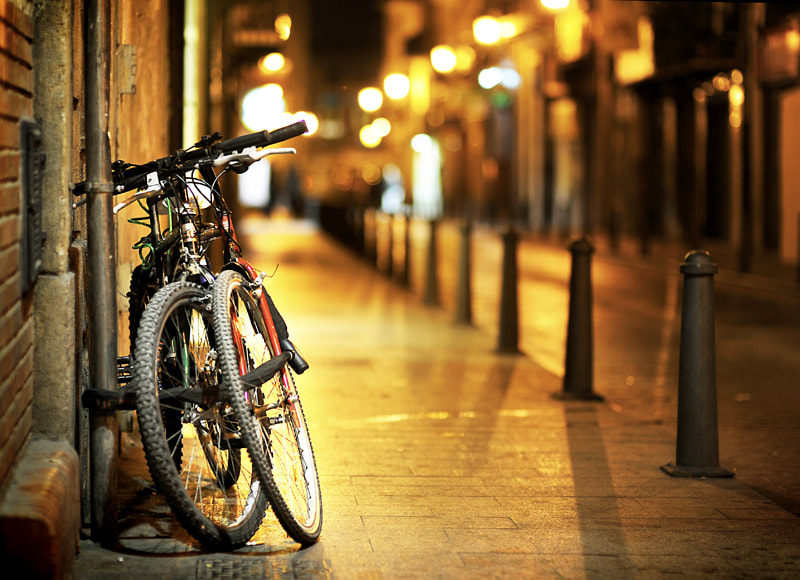 Photograph Our bike street by Manuel Orero on 500px