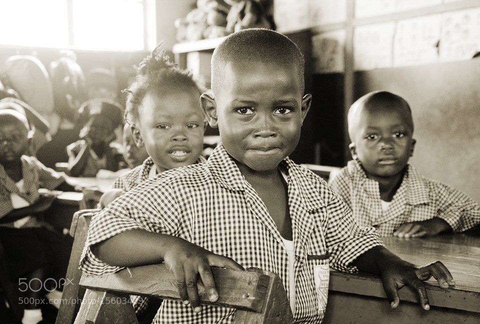 Photograph Sierra Leone School Boy by Andreas Skoog on 500px