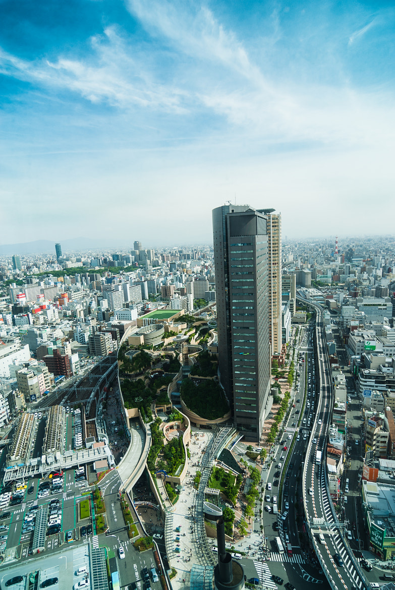 Photograph Namba Parks View Two by Jason McDonald on 500px