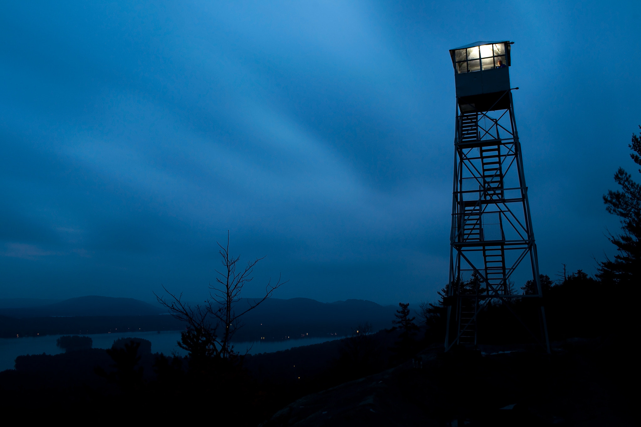 Photograph Fire Tower Light by Michael Fey on 500px