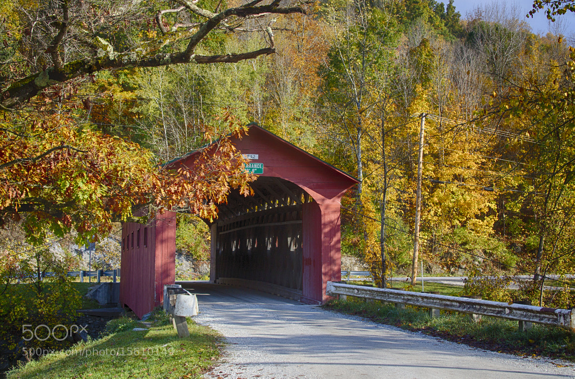 Photograph Covered Bridge. . . by Sonny Hamauchi on 500px