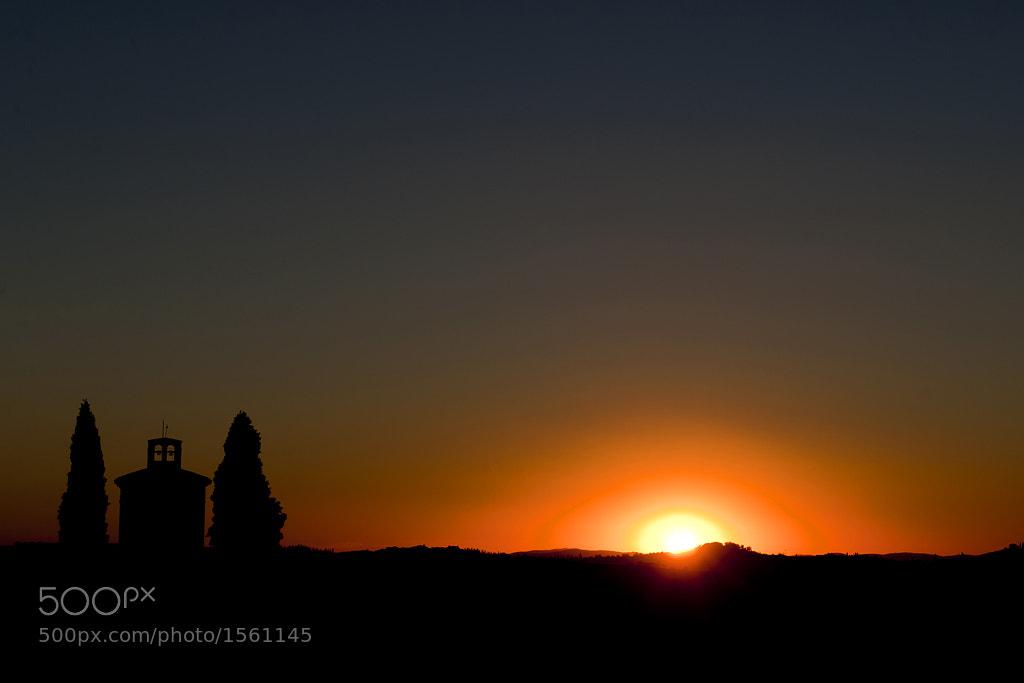 Photograph Tuscan Sunset by Jure Kravanja on 500px