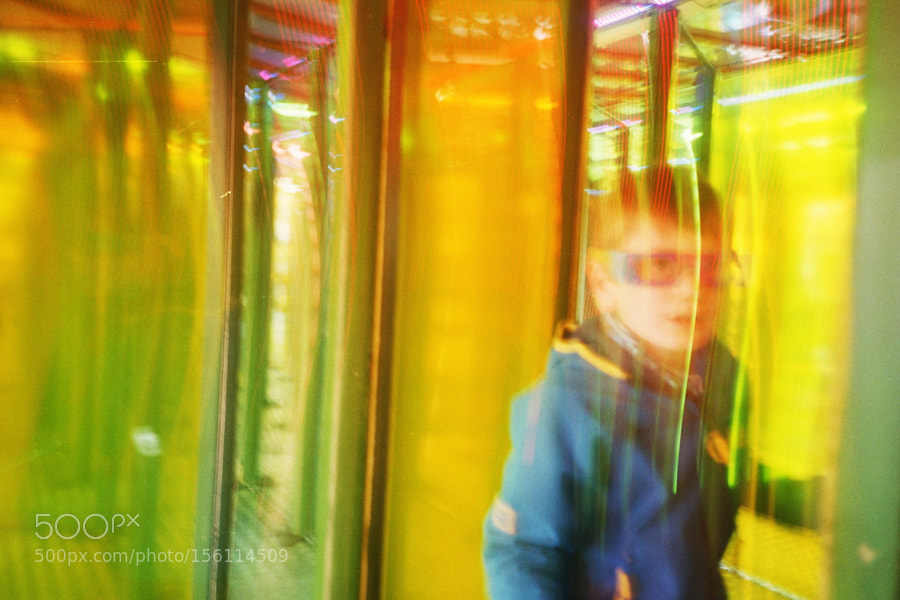 Im Spiegelkabinett / Inside the mirror room Leipzig 2016