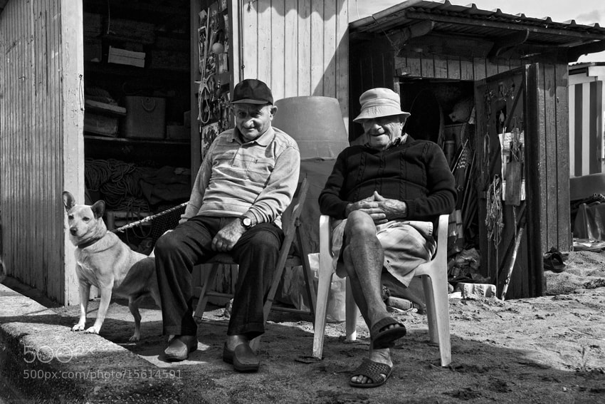 Photograph Two Men And The Best Friend by mario pignotti on 500px