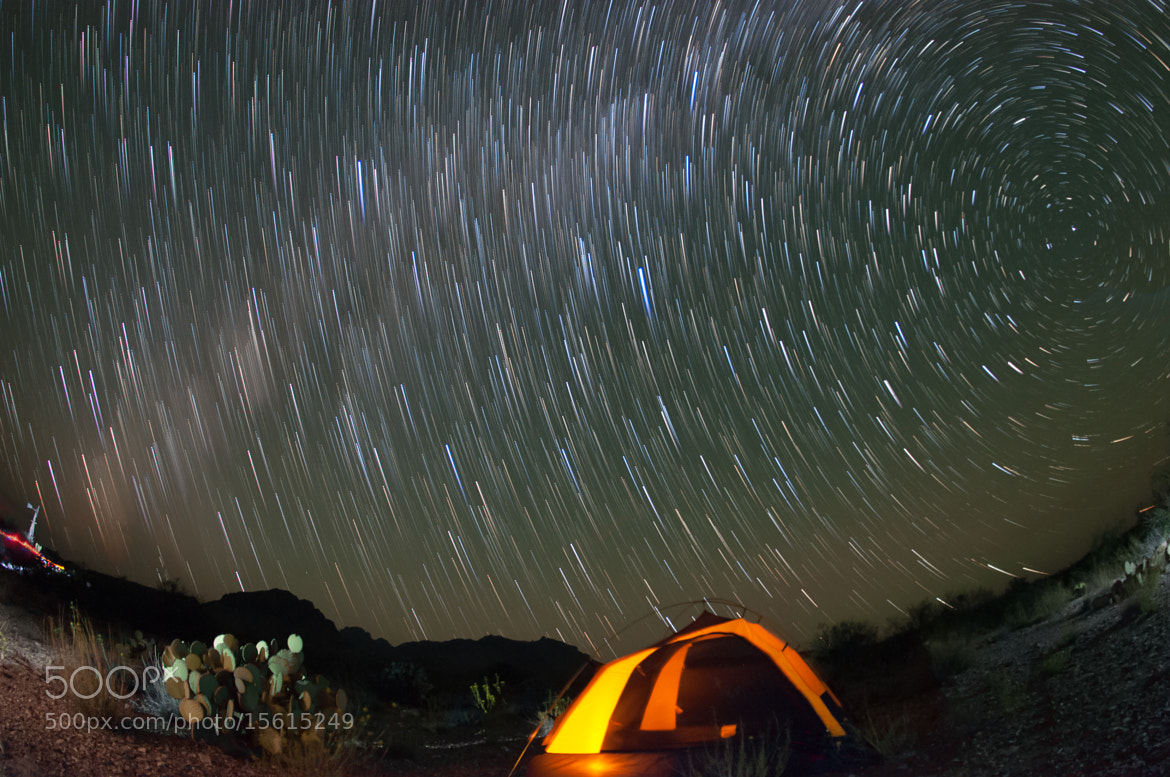 Photograph Comet trails at Dugout Wells by Sergio Garcia Rill on 500px