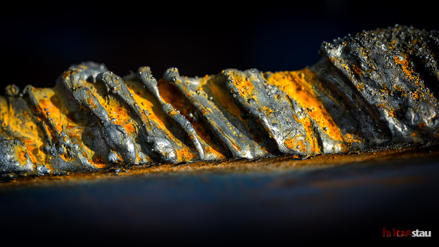 Edge of Melted Metal by hitzestau on 500px.com