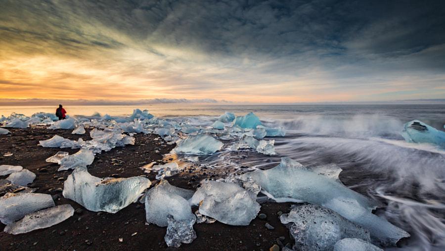 Icy Beach, автор — wim denijs на 500px.com