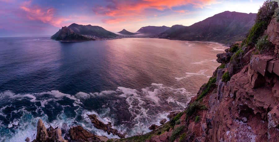 Sunrise over hout bay by Dean  v d West on 500px.com