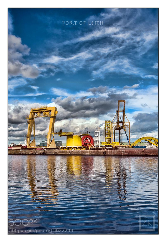Photograph Port of Leith by Zain Kapasi on 500px