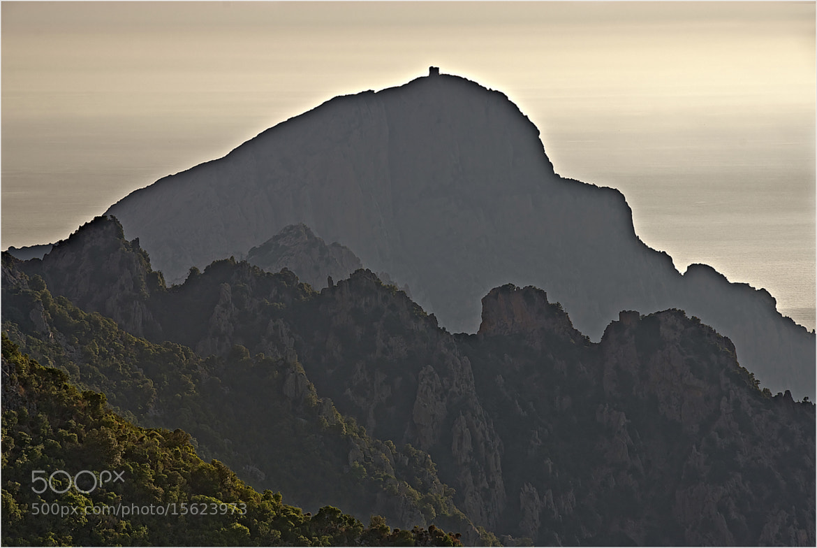 Photograph Capo Rosso, Corsica by John Barker on 500px