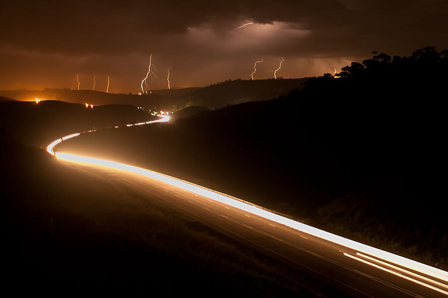Photograph Light Trails by Sean van Tonder on 500px