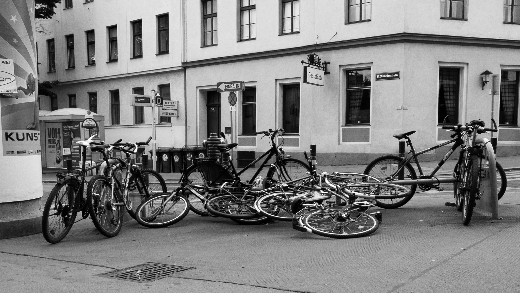 Photograph even bikes are still sleeping at 7am by Csaba Böhm on 500px