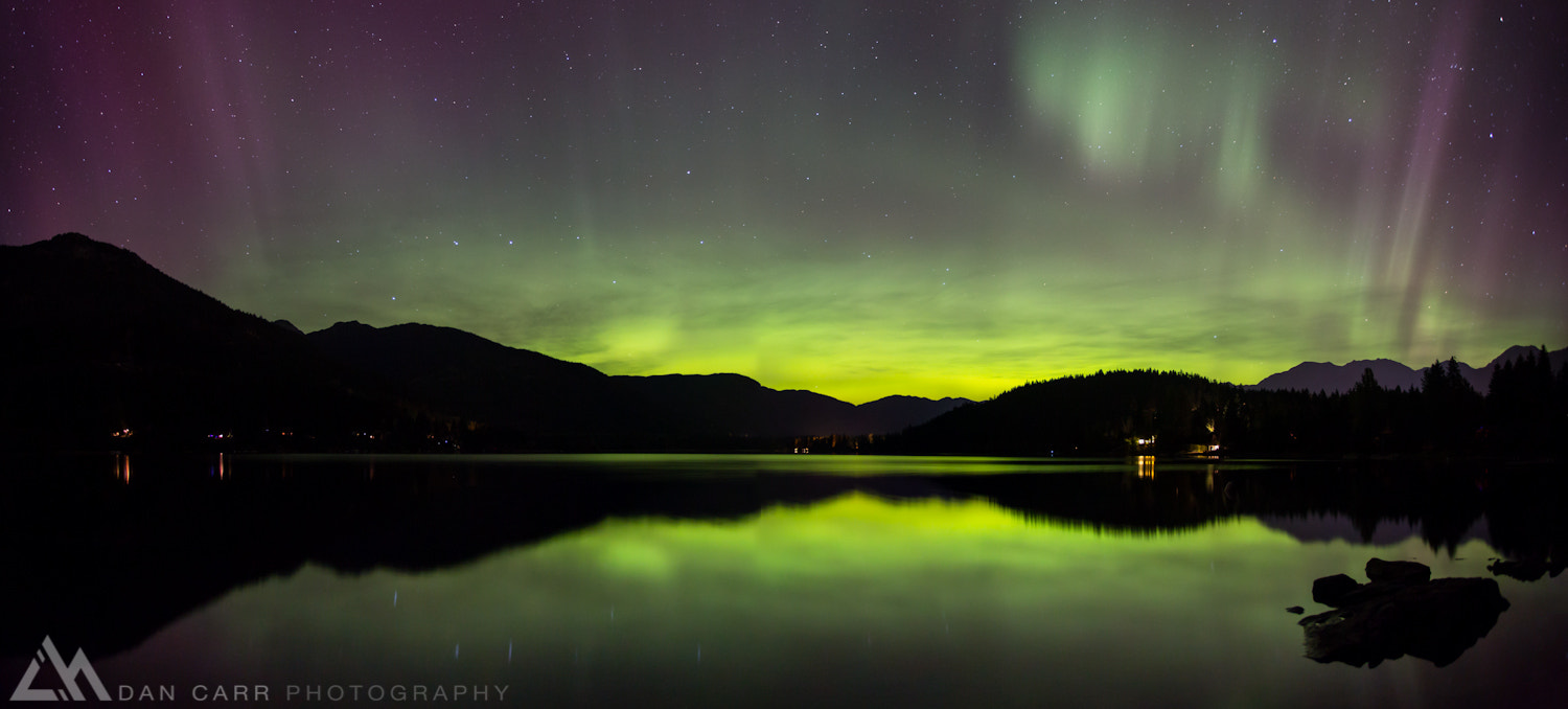 Photograph Auroral Reflection by Dan Carr on 500px