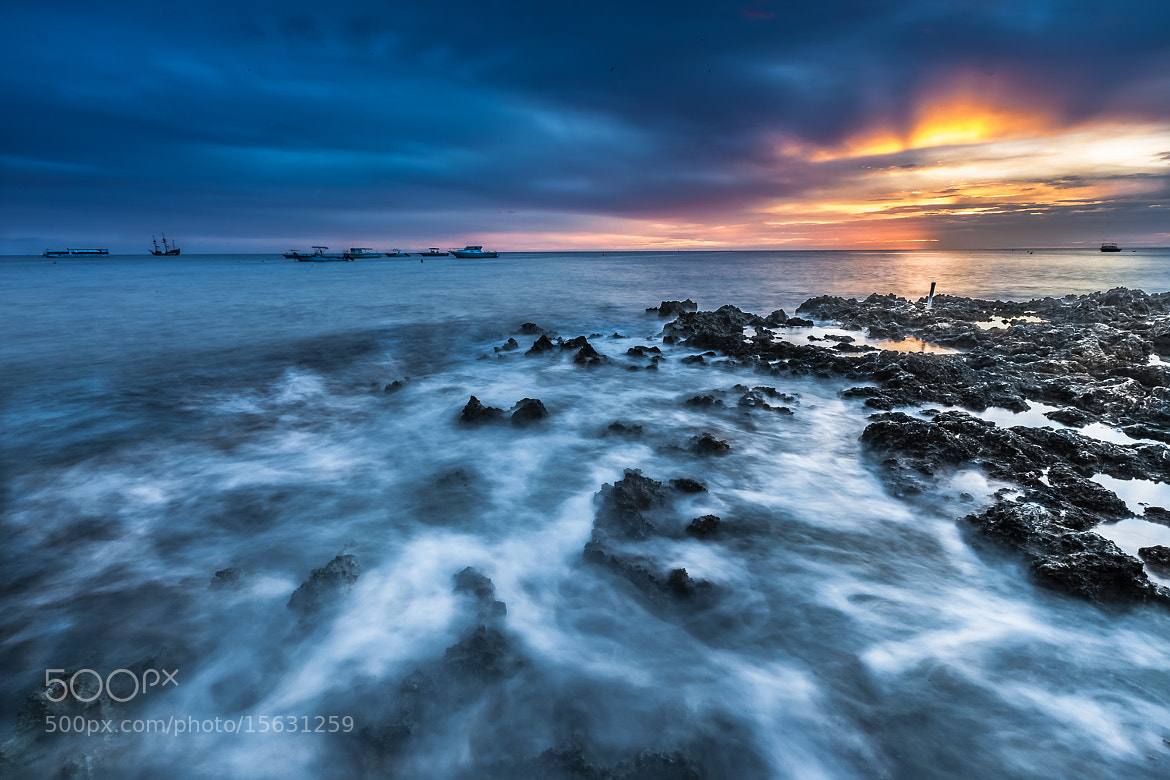 Photograph 10 minutes after Sunset by Guntomi Wibowo on 500px