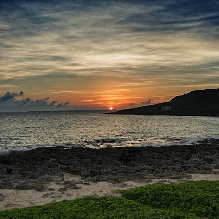 Taiwan Southernmost Point sunset