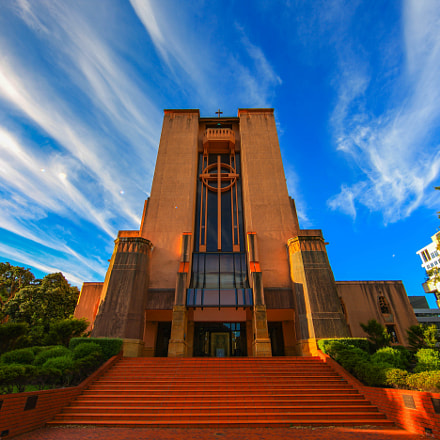 Wellington Cathedral of St, Canon EOS-1DS MARK III