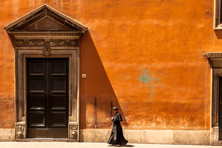 Walking Priest by Antoine Tardy on 500px.com