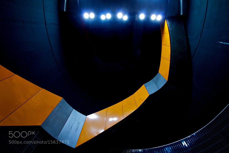 Photograph Stairs & Orange I by Thomas Bonfert on 500px