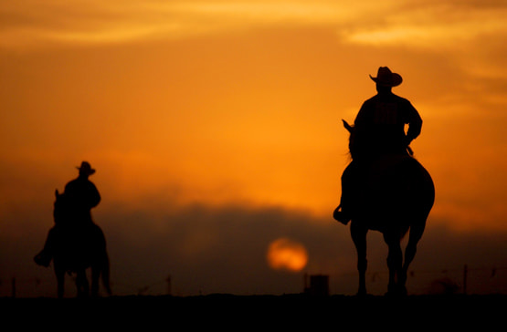 Photograph Cowboy Sunset by Jeff Greene on 500px