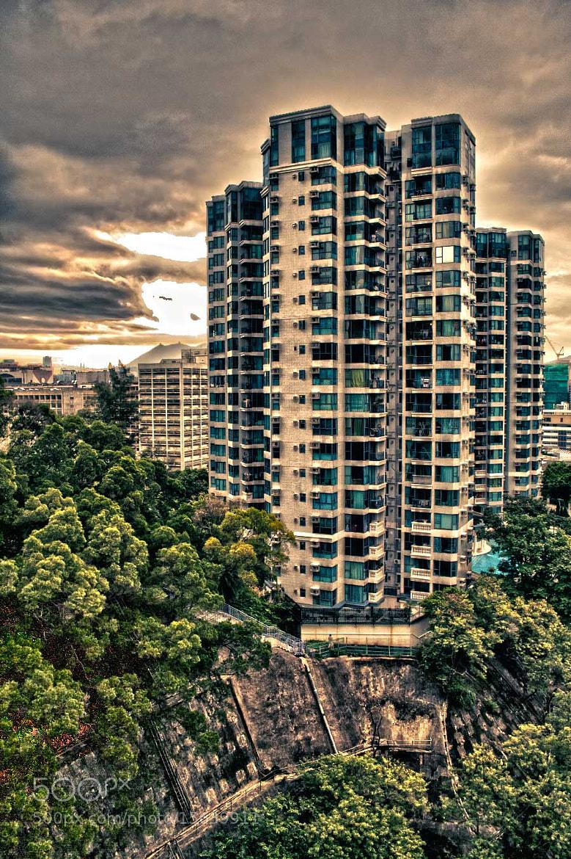 Photograph Building in Hong Kong by Soňa Kovalčíková on 500px