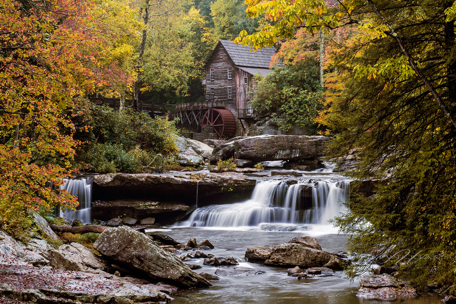 Photograph Glade Creek Grist Mill by Tim Williams on 500px