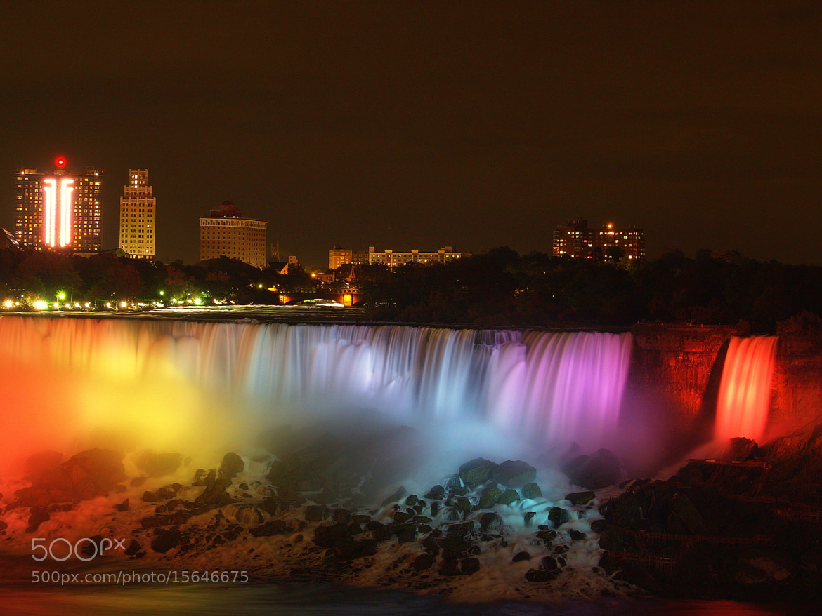 Photograph Niagara Fall At Night. by Nam Hoang on 500px