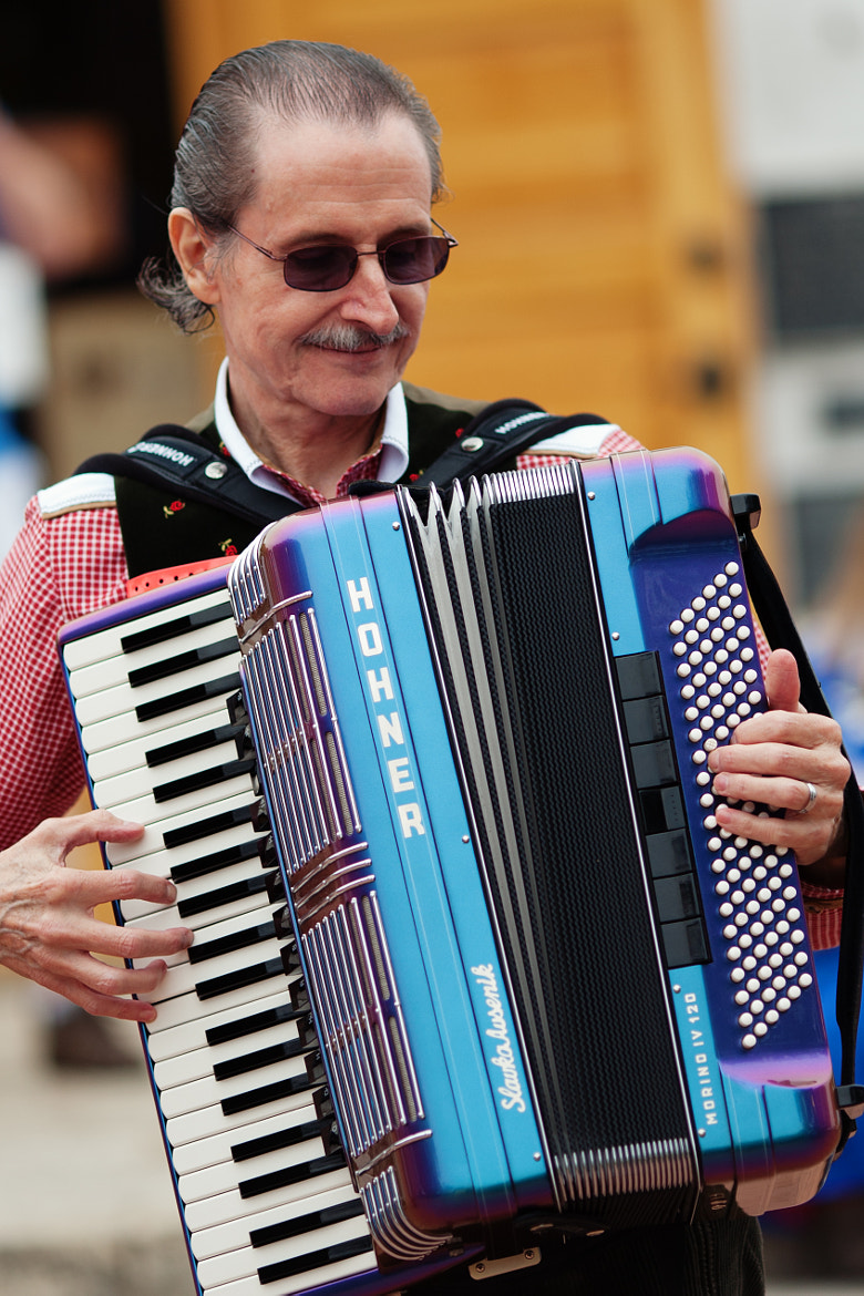 Photograph Accordion Player by Phuc H.  Nguyen on 500px