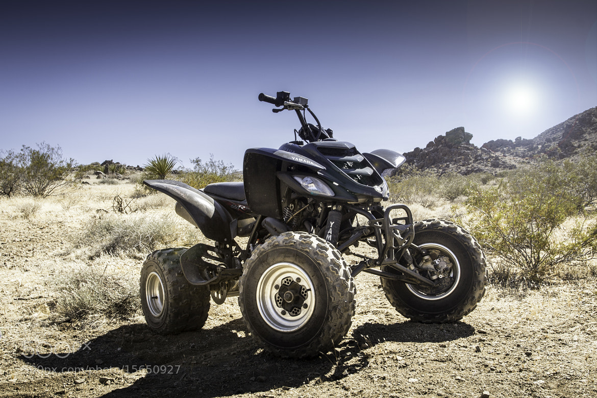 Photograph Yamaha Raptor 660R Limited Edition in the Desert  by Eric Burger on 500px