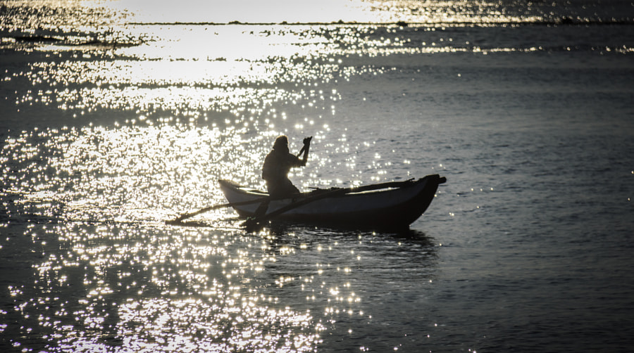 Fisherman in the Morning, Vakarai, Sri Lanka by Son of the Morning Light on 500px.com
