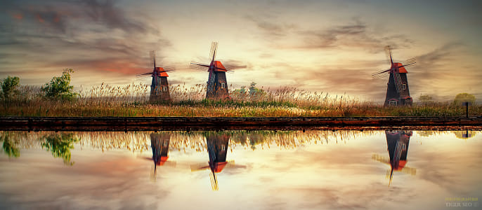 windmills by Klassy Goldberg on 500px