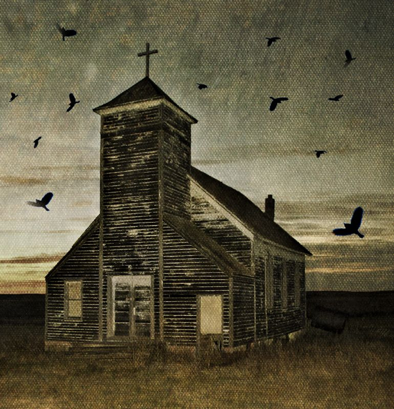 Photograph Ghost Town Church by Michelle Oppegard on 500px