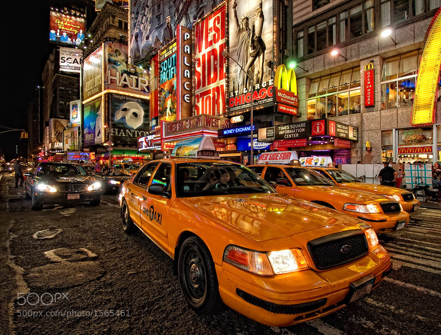 Photograph Times Square by Michael Adamek on 500px