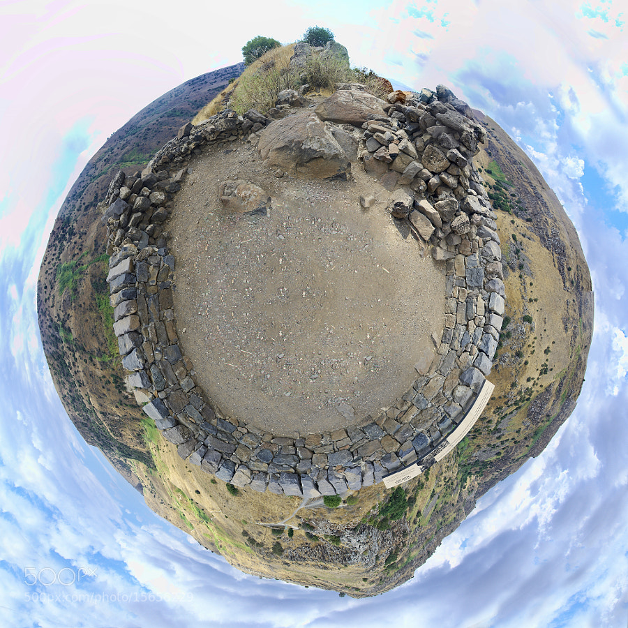 "Photograph [135] Gamla Little Planet - Golan Higths, Israel (32°54'9.03""N, 35°44'25.65""E) by Ricky Marek on 500px"