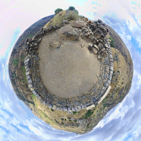 "[135] Gamla Little Planet - Golan Higths, Israel (32°54'9.03""N, 35°44'25.65""E) by Ricky Marek (rbid)) on 500px.com"