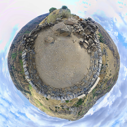 "[135] Gamla Little Planet - Golan Higths, Israel (32°54'9.03""N, 35°44'25.65""E)"