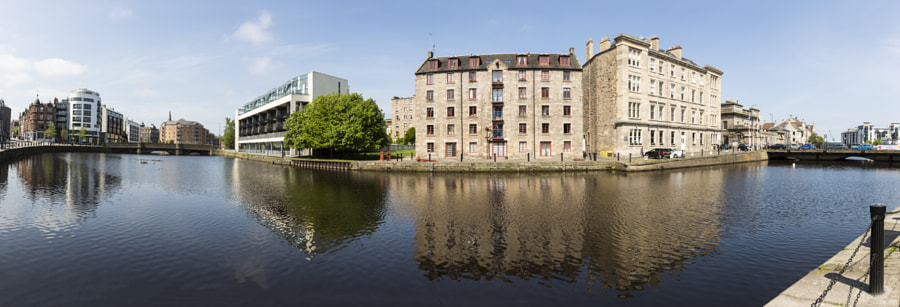 Water of Leith panorama