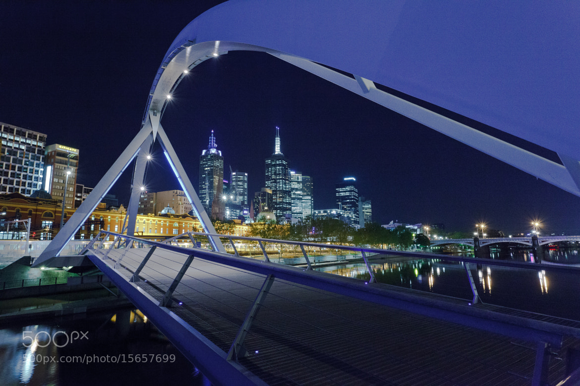 Photograph Yarra Pedestrian Bridge  by Shari Mattox on 500px