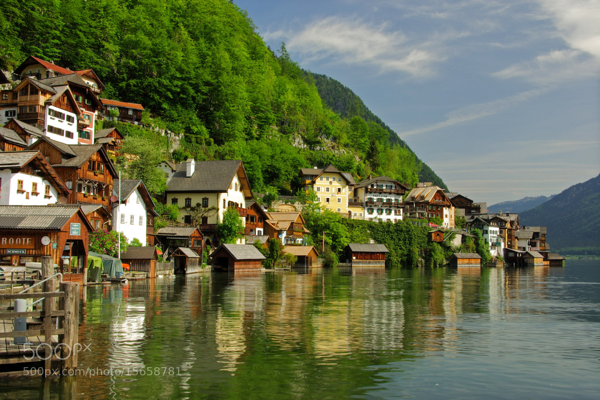 Photograph Boat-houses in Hallstatt by Béla Török on 500px