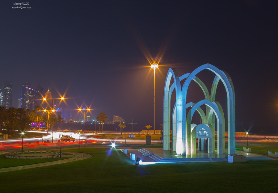 Photograph Doha Lights by Moehtar Photo on 500px