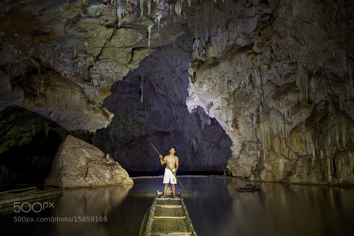Photograph Ong, Lod Cave raft guide by john spies on 500px